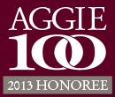 Aggie 100 2013 Honoree