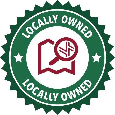 A green Locally Owned seal